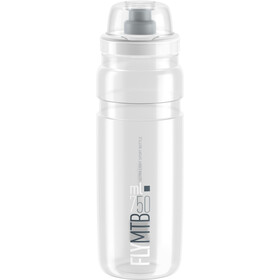 Elite Fly MTB Drinking Bottle 750ml clear/grey logo